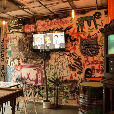 руин-бар в Саратове