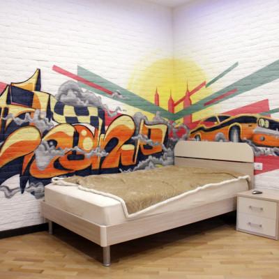 граффити шрифт
